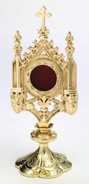 Reliquiar vergoldet H 29 cm
